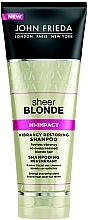 Düfte, Parfümerie und Kosmetik Regenerierendes Shampoo für blondes Haar - John Frieda Sheer Blonde Flawless Recovery Shampoo