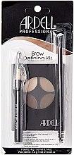 Düfte, Parfümerie und Kosmetik Make-up Set (Make-up Palette 4g + Wimpernbürste + Augenbrauenpinsel) - Ardell Brow Defining Kit