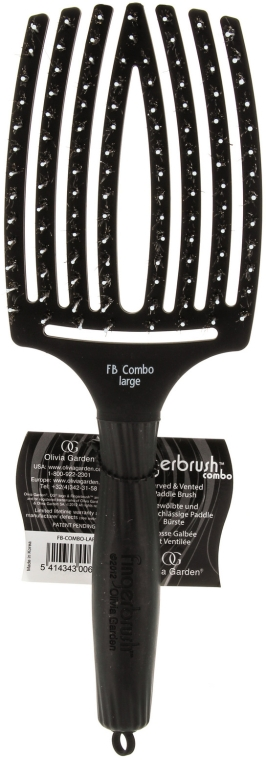 Massage- und Entwirrungsbürste groß - Olivia Garden Finger Brush Combo Large