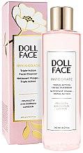 Düfte, Parfümerie und Kosmetik Gesichtsreiniger - Doll Face Invigorate Triple-Action Facial Cleanser