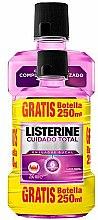 Düfte, Parfümerie und Kosmetik Mundpflegeset - Listerine Total Care (Mundspülung 500ml + Mundspülung 250ml)