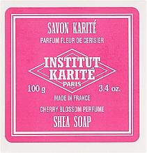 Düfte, Parfümerie und Kosmetik Seife mit Kirschblütenduft - Institut Karite Fleur de Cerisier Shea Soap