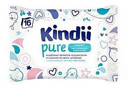 Düfte, Parfümerie und Kosmetik Feuchttücher für Kinder - Kindii Pure