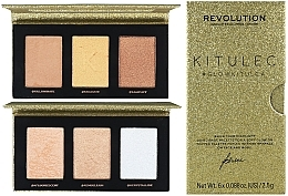Düfte, Parfümerie und Kosmetik Make-up Palette - Makeup Revolution Kitulec #GlowKitulca Highlighter Palette (Highlighter-Palette 2x7.5g)