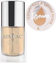 Düfte, Parfümerie und Kosmetik Nagel- und Nagelhautpflegeöl mit Zitrusduft - Semilac Care Nail & Cuticle Elixir Dream