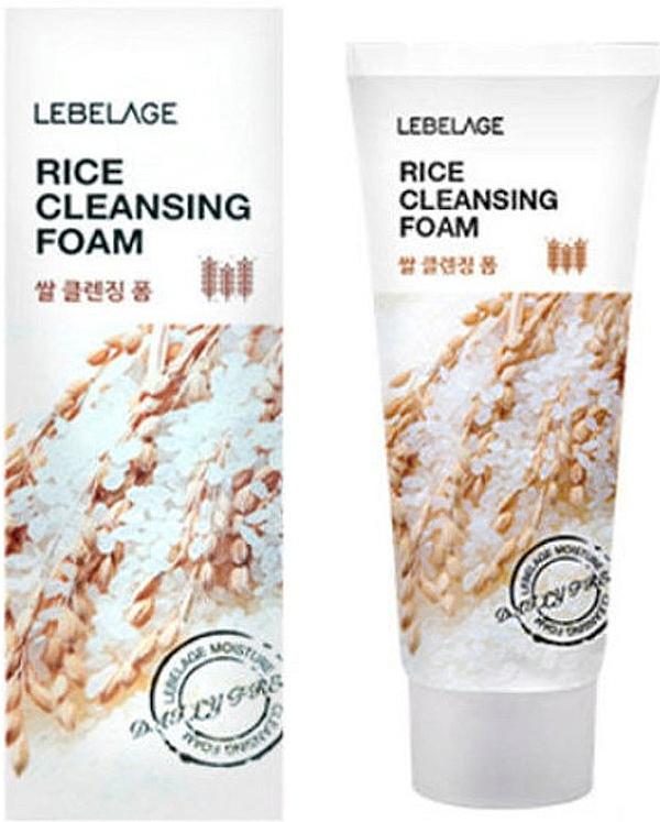 Gesichtsreinigungsschaum mit Reisextrakt - Lebelage Rice Cleansing Foam