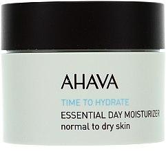 Düfte, Parfümerie und Kosmetik Feuchtigkeitsspendende Tagescreme für normale bis trockene Haut - Ahava Time To Hydrate Essential Day Moisturizer Normal to Dry Skin