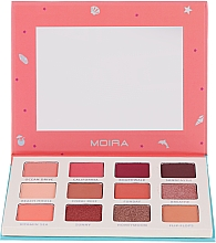 Düfte, Parfümerie und Kosmetik Lidschattenpalette - Moira Happy To Sea You Shadow Palette
