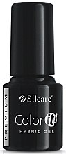 Düfte, Parfümerie und Kosmetik Gel Nagellack - Silcare Color IT Premium Hybrid Gel