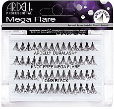 Düfte, Parfümerie und Kosmetik Wimpernbüschel-Set - Ardell Duralash Knot Mega Flare Long Black