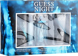 Düfte, Parfümerie und Kosmetik Guess Night - Duftset (Eau de Toilette 100ml + Duschgel 200ml + Deodorant 226ml)