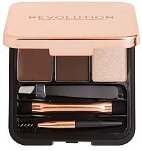 Düfte, Parfümerie und Kosmetik Make-up Set - Makeup Revolution Brow Sculpt Kit