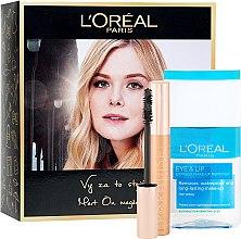 Düfte, Parfümerie und Kosmetik Gesichtsset (Wimperntusche 6,4ml + Make-up Entferner 125ml) - L'Oreal Paris Set