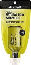 Düfte, Parfümerie und Kosmetik Natürliches Shampoo mit Ginseng-Extrakt - Alice Koco Premium Natural Hair Shampoo
