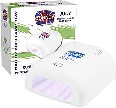 Düfte, Parfümerie und Kosmetik UV-Lampe für Nageldesign weiß - Ronney Profesional Judy UV 36W (GY-UV-230) Lamp