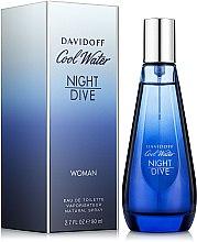 Düfte, Parfümerie und Kosmetik Davidoff Cool Water Night Dive Woman - Eau de Toilette