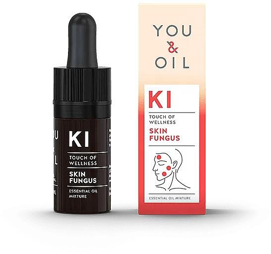 Bioaktive ätherische Ölmischung gegen Hautpilz - You & Oil KI-Skin Fungus Touch Of Welness Essential Oil
