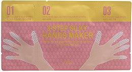 Düfte, Parfümerie und Kosmetik 3-Schritt seidenweiche Hand- und Nagelmaske - A'pieu 3-Step Silky Hands Maker