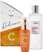 Düfte, Parfümerie und Kosmetik Gesichtspflegeset - Avon Anew Radiance Vitamin C (Verjüngendes Gesichtsserum 30ml + Gesichtstonikum 200ml)