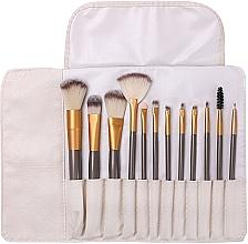 Düfte, Parfümerie und Kosmetik Make-up Pinselset 12-tlg. - Lewer