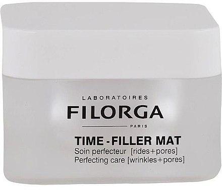 Porenverfeinernde und mattierende Anti-Falten Tagescreme für das Gesicht - Filorga Time-Filler Mat Cream — Bild N1
