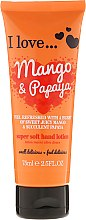Düfte, Parfümerie und Kosmetik Extra milde Handlotion Mango und Papaya - I Love... Mango & Papaya Super Soft Hand Lotion