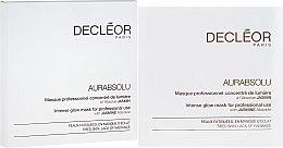 Düfte, Parfümerie und Kosmetik Gel-Maske für das Gesicht mit Jasmin - Decleor Aurabsolu Intense Glow Mask