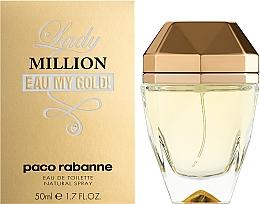 Paco Rabanne Lady Million Eau My Gold - Eau de Toilette — Bild N2