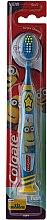 Düfte, Parfümerie und Kosmetik Kinderzahnbürste 6+ Jahre, weich, blau mit gelb - Colgate Kids Soft Toothbrush