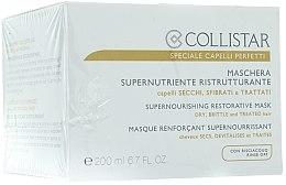 Düfte, Parfümerie und Kosmetik Pflegende Haarmaske für trockenes Haar - Collistar Supernourishing Restorative Mask