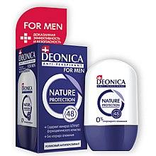 Düfte, Parfümerie und Kosmetik Deo Roll-on Antitranspirant - Deonica Nature Protection For Men