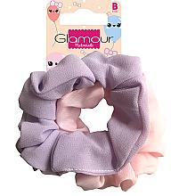Düfte, Parfümerie und Kosmetik Haargummis 417616 rosa und violett 2 St. - Glamour