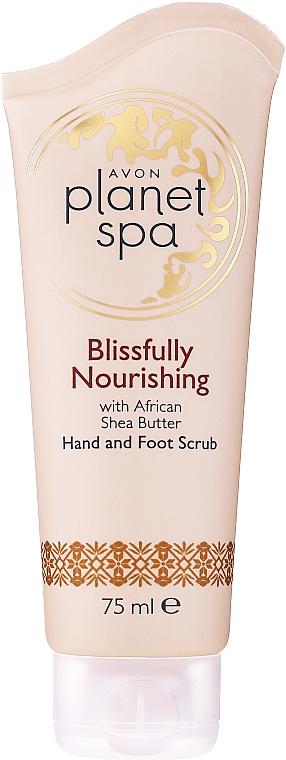 Pflegendes Peeling für Hände und Füße mit Sheabutter - Avon Planet Spa Scrub