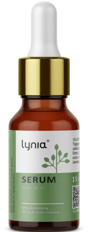 Gesichtsserum gegen Akne mit Hanf- und Lavendelöl - Lynia Anti-Acne Serum