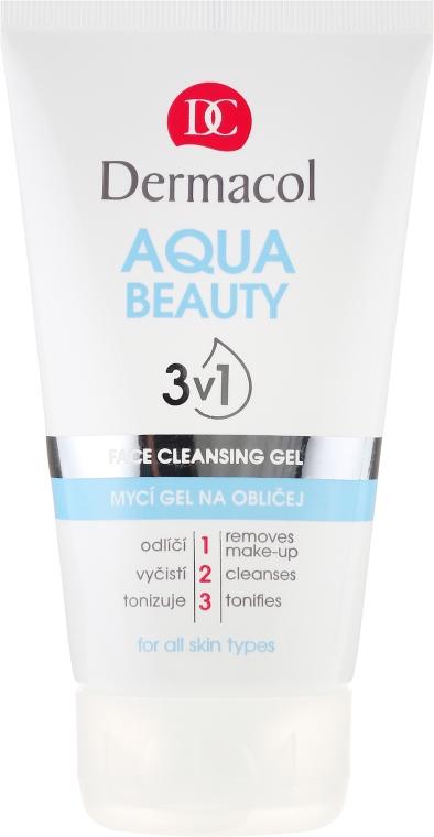 Gesichtsreinigungsgel - Dermacol Aqua Beauty 3v1 Face Cleansing Gel