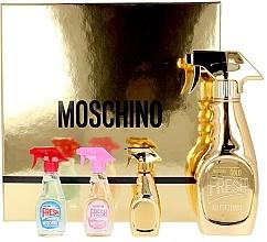 Düfte, Parfümerie und Kosmetik Moschino Fresh Couture - Duftset (Eau de Parfum 50ml + Eau de Parfum 3x5ml)