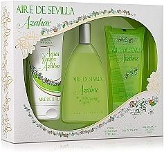 Düfte, Parfümerie und Kosmetik Instituto Espanol Aire de Sevilla Azahar - Duftset (Eau de Toilette 150ml + Körpercreme 150ml + Duschgel 150ml)