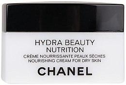 Düfte, Parfümerie und Kosmetik Nährende schützende und feuchtigkeitsspendende Gesichtscreme für trockene Haut - Chanel Hydra Beauty Nourishing and Protective Cream