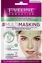 Düfte, Parfümerie und Kosmetik Beruhigende Gesichtsmaske gegen Rötungen - Eveline Cosmetics MultiMasking