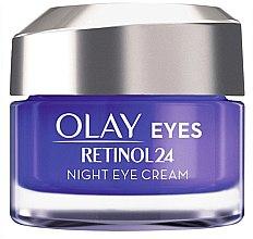 Düfte, Parfümerie und Kosmetik Feuchtigkeitsspendende Anti-Aging Nachtcreme für die Augen mit Retinol - Olay Regenerist Retinol24 Nigh Eye Cream
