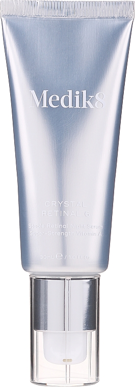 Nachtcreme-Serum für das Gesicht mit Vitamin A 0,06% - Medik8 Retinal Crystal