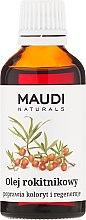 Düfte, Parfümerie und Kosmetik Regenerierendes Sanddornöl - Maudi