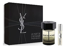 Düfte, Parfümerie und Kosmetik Yves Saint Laurent La Nuit de LHomme - Duftset (Eau de Toilette/100ml+Eau de Toilette/10ml)