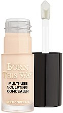 Düfte, Parfümerie und Kosmetik Gesichts-Concealer - Too Faced Born This Way Multi-Use Sculpting Concealer (Mini)