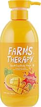 Düfte, Parfümerie und Kosmetik Duschgel mit Mango - Farms Therapy Sparkling Body Wash Mango
