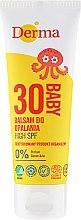 Düfte, Parfümerie und Kosmetik Sonnenschutzbalsam für Kinder SPF 30 - Derma Eco Baby Sun Screen High SPF30