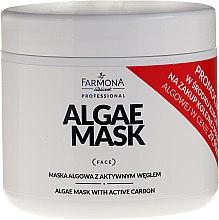 Düfte, Parfümerie und Kosmetik Algenmaske für das Gesicht mit Aktivkohle - Farmona Professional Algae Mask With Active Carbon