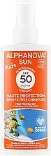 Düfte, Parfümerie und Kosmetik Sonnenschutzspray für Kinder - Alphanova Sun Kids SPF 50+