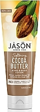 Düfte, Parfümerie und Kosmetik Hand- und Körperlotion mit Kakaobutter - Jason Natural Cosmetics Cocoa Butter Lotion