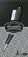 Düfte, Parfümerie und Kosmetik Rasiermesser mit 5 Rasierklingen - Wilkinson Sword Vintage Edition Cut Throat